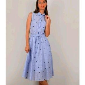 MOLLY BRACKEN - Midi Shirt Dress